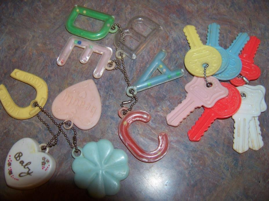 Vintage Baby Toys, Teethers