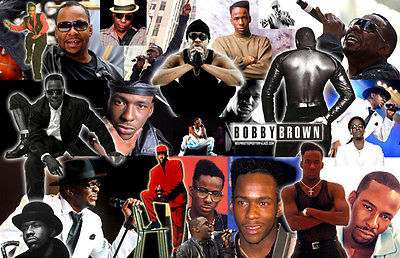 BOBBY BROWN Collage Poster