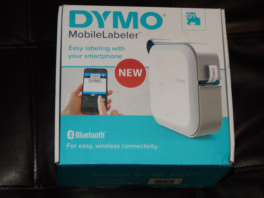 New DYMO MobileLabeler Label MAKER 24MM D1 Bluetooth Label Printer Free Shipping
