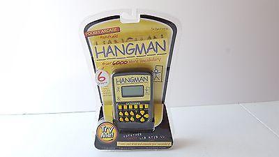 Pocket Arcade Hangman Electronic Handheld Game - Brand New
