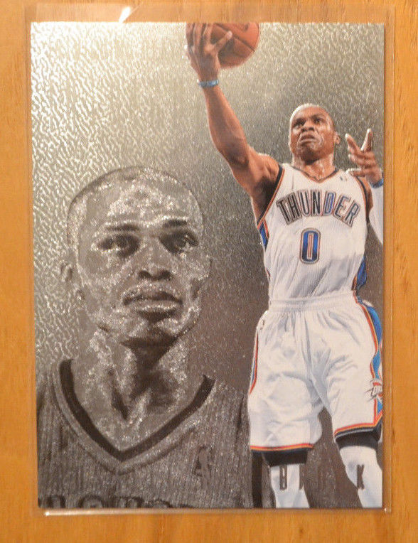 Russell Westbrook 2013-14 Panini Intrigue Intriguing Players #35 Thunder