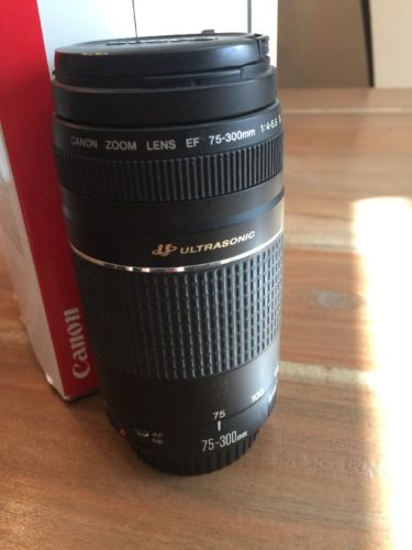 Canon EF 75-300mm f/4.0-5.6 III Lens - PREOWNED USED