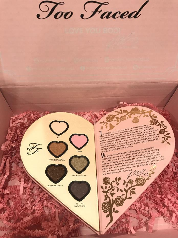 Kat Von D & Too Faced Better Together Eyeshadow - TOO FACED Eyeshadow Palette