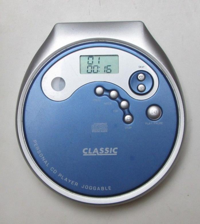 Classic Portable Personal CD Disc Player CJ631 AntiSkip ESP Joggable Tested