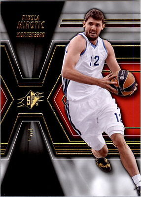 2014-15 UPPER DECK SPX NIKOLA MIROTIC ROOKIE RC # 69 BULLS REAL MADRID QTY HOT