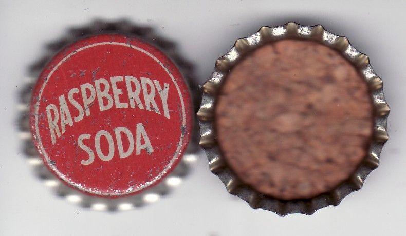 VINTAGE / OLD CORK BOTTLE  CROWN CAP SOFT DRINK