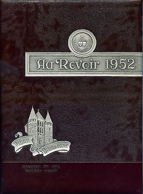 1952 Original Yearbook, Villa Duchesne Academy, St. Louis, Mo.