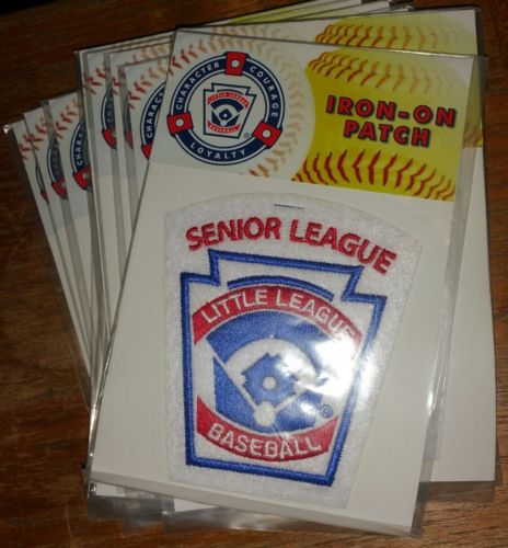 Little League Baseball Senior League Iron On Patch Lot of 12 COMPLETE TEAM