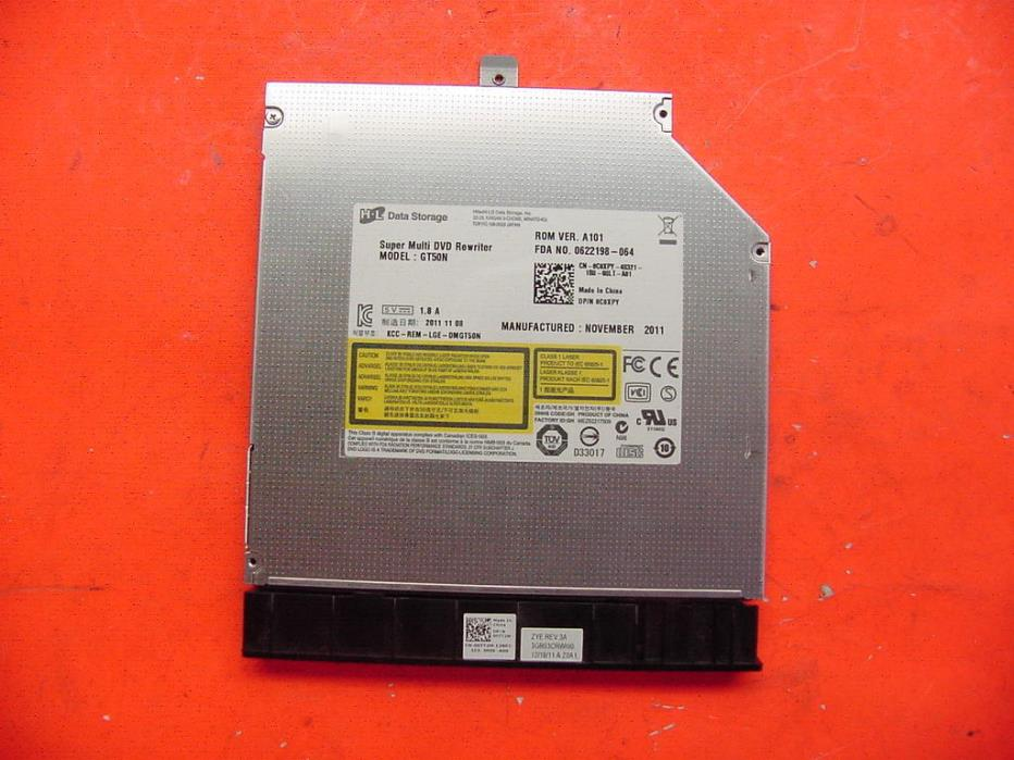 Dell Inspiron N7110 DVD RW Optical Drive with Bezel GT50N  C0XPY