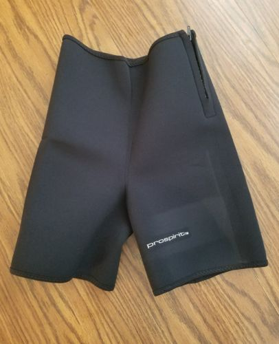 Black Neoprene Wetsuit Shorts Small Prospirit Diving Swimming Surfing Rash Guard