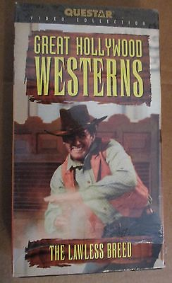 Lawless Breed (The) (Western) VHS Staring Rock Hudson