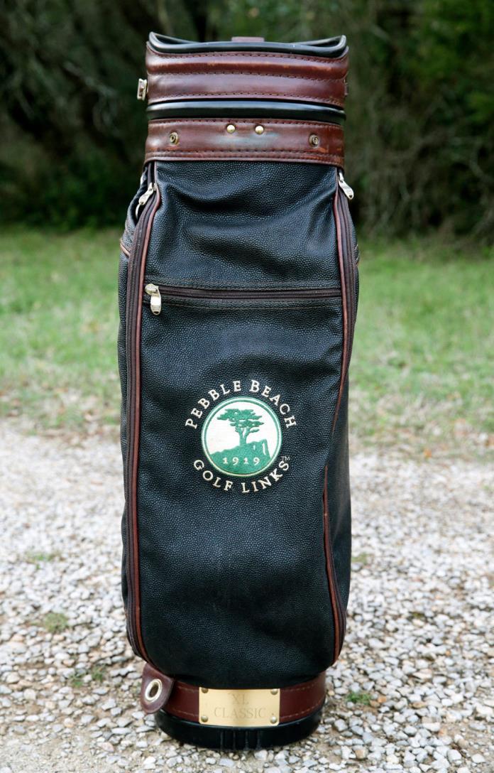 Pebble Beach Logo Golf Bag by Belding Sports