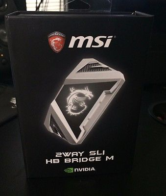 MSI 2Way SLI HB Bridge M (Silver)
