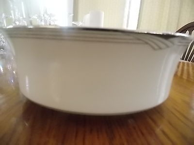 1~NORITAKE~STERLING COVE 7720~8 1/4 INCH SALAD SERVING DISH/BOWL~EXCELLENT!