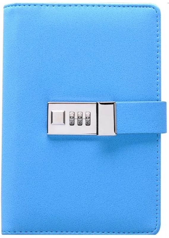 Binder Journal With Combination Lock (Binder Diary With Combination Lock), Size: