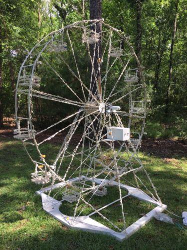 Custom 3D Outdoor Christmas Ferris Wheel, Motorized, Animated Decoration