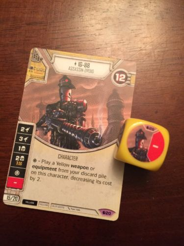 Star Wars Destiny -- IG-88 -- Legendary #20 -- Spirit of Rebellion
