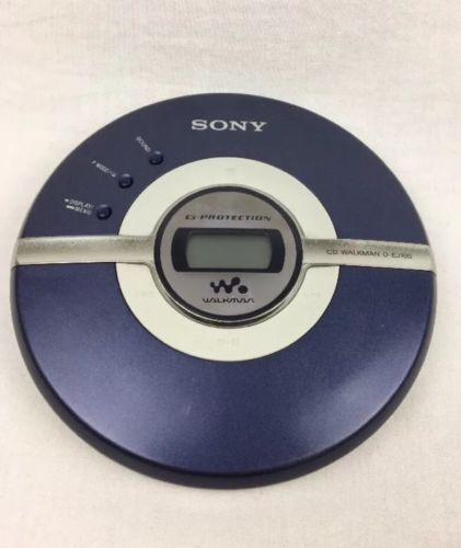 Sony Walkman D-EJ100 Portable CD Player Discman G Protection
