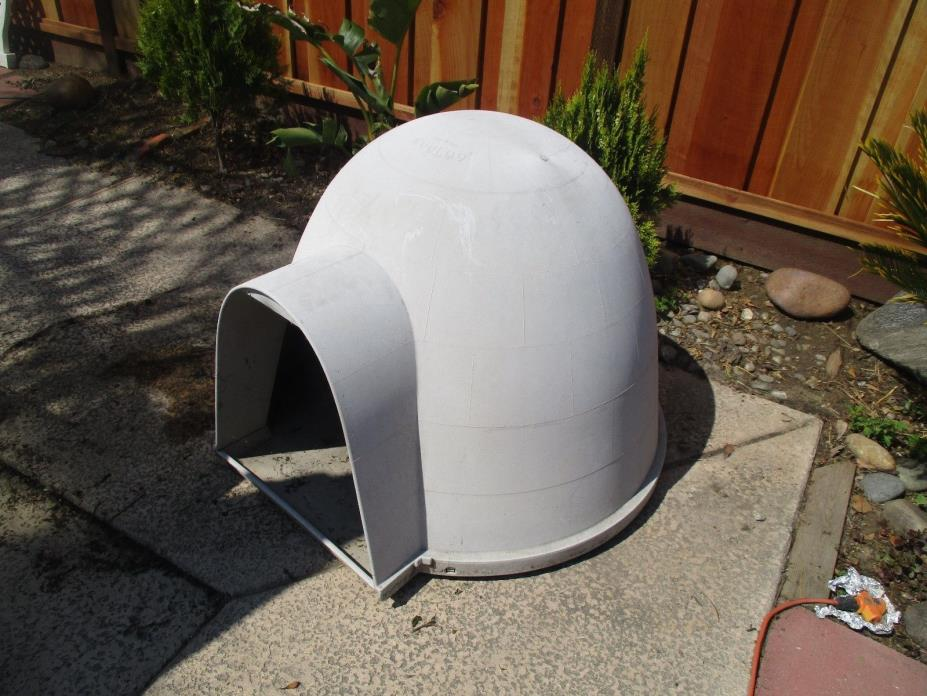 Igloo Dog House Pet Bed Dome Shelter Cave X Large Outdoor Portable Sturdy Safety