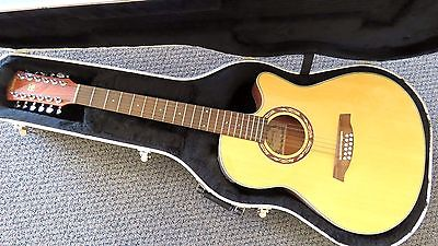 Ibanez AEF1812-NT-OP-01 12 String Electric Acoustic Guitar E01040965