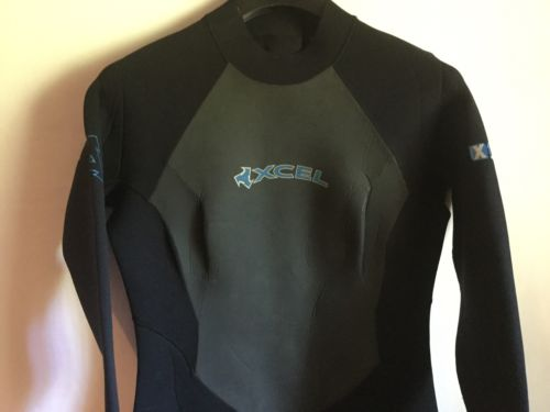 Women's Wetsuit 4:3mm XCEL Hawaii Size 14 2XL 160-180 Lbs.