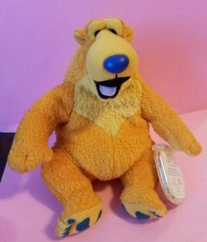 STAR BEAN DISNEY JIM HENSON BEAR IN THE BIG BLUE HOUSE PLUSH BEANIE NWT