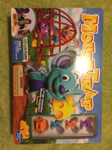 New Open Box Mouse Trap Game Missing Pieces Hasbro