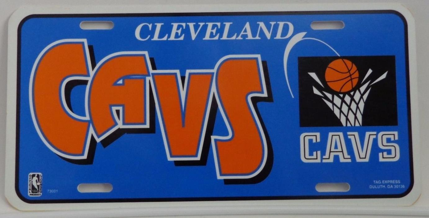 Cleveland Cavaliers LICENSE PLATE 12 X 6