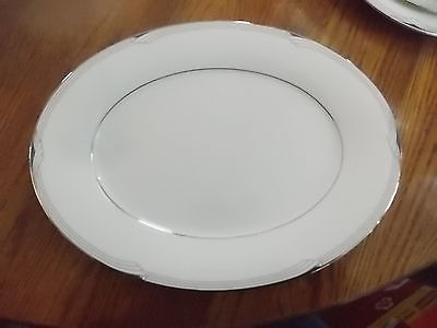 1~NORITAKE~STERLING COVE 7720~13 5/8 INCH SERVING/MEAT PLATTER EXCELLENT!