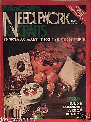 MCCALLS NEEDLEWORK And Crafts Magazine Winter 1978 Christmas