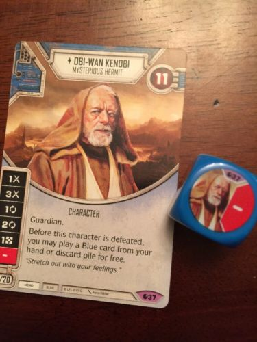 Star Wars Destiny -- Obi-Wan Kenobi -- Legendary #37 -- Spirit of Rebellion