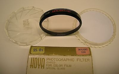 Hoya 55mm Skylight (1A)Filter