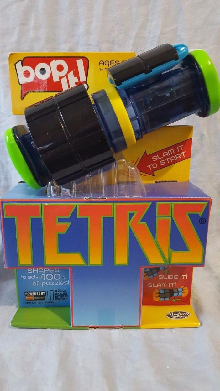 Bop It! Tetris Game. Bopit! Hasbro New Toy Ages 8+ Fast/Free Shipping!!