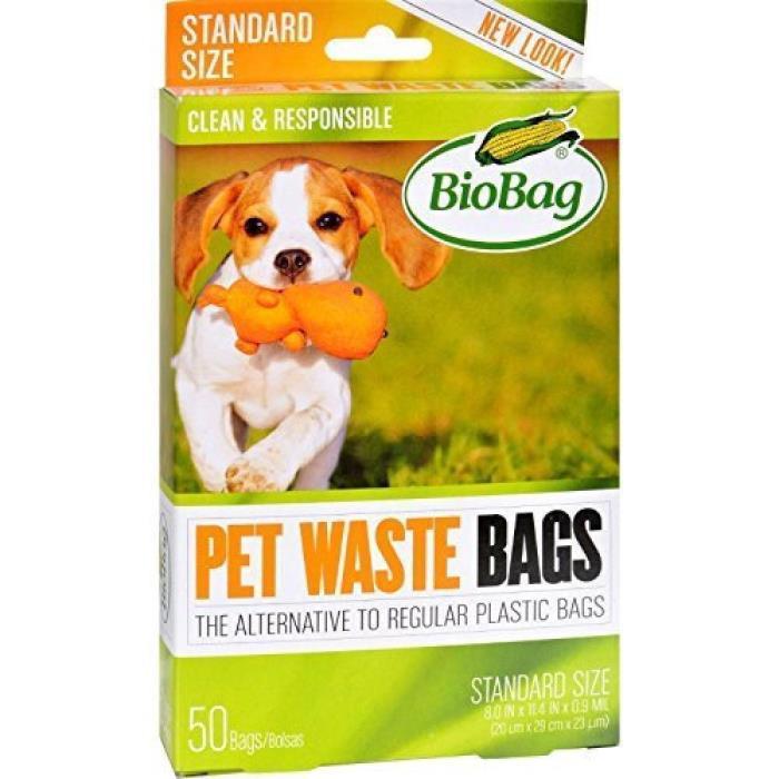 BioBag Dog Waste Bags, 50 ct, New, free shipping /1pk
