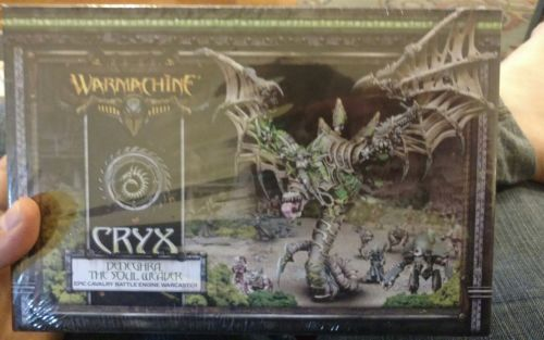 Warmachine: Cryx: Deneghra The Soul Weaver Battle Engine (PIP34105) NEW sealed