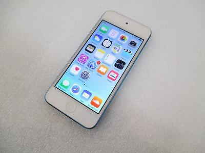 Apple iPod Touch 16GB MGG32LL/A 5th Generation - Blue - Pink hue in the screen