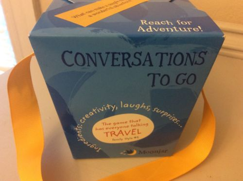 NEW Moonjar 12360 Conversations To Go Travel