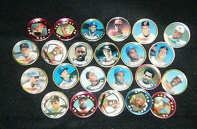 Topps Baseball Coin Lot (22 Coins)