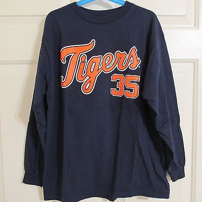 Detroit Tigers Genuine Merchandise Verlander #35 Youth Large Shirt