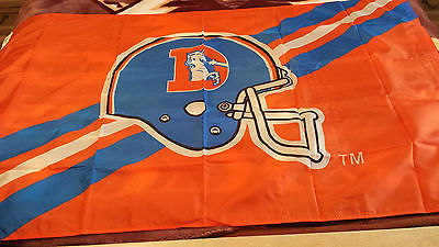 Vintage Denver Broncos  Team flag 3x5