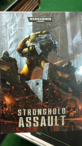 Warhammer 40K Stronghold Assault -- Rules & Scenario book hardcover