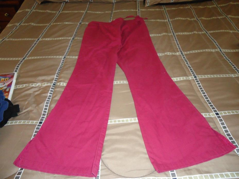 MISSES SCRUB PANTS WINE COLOR SIZE SMALL DICKIES BRAND