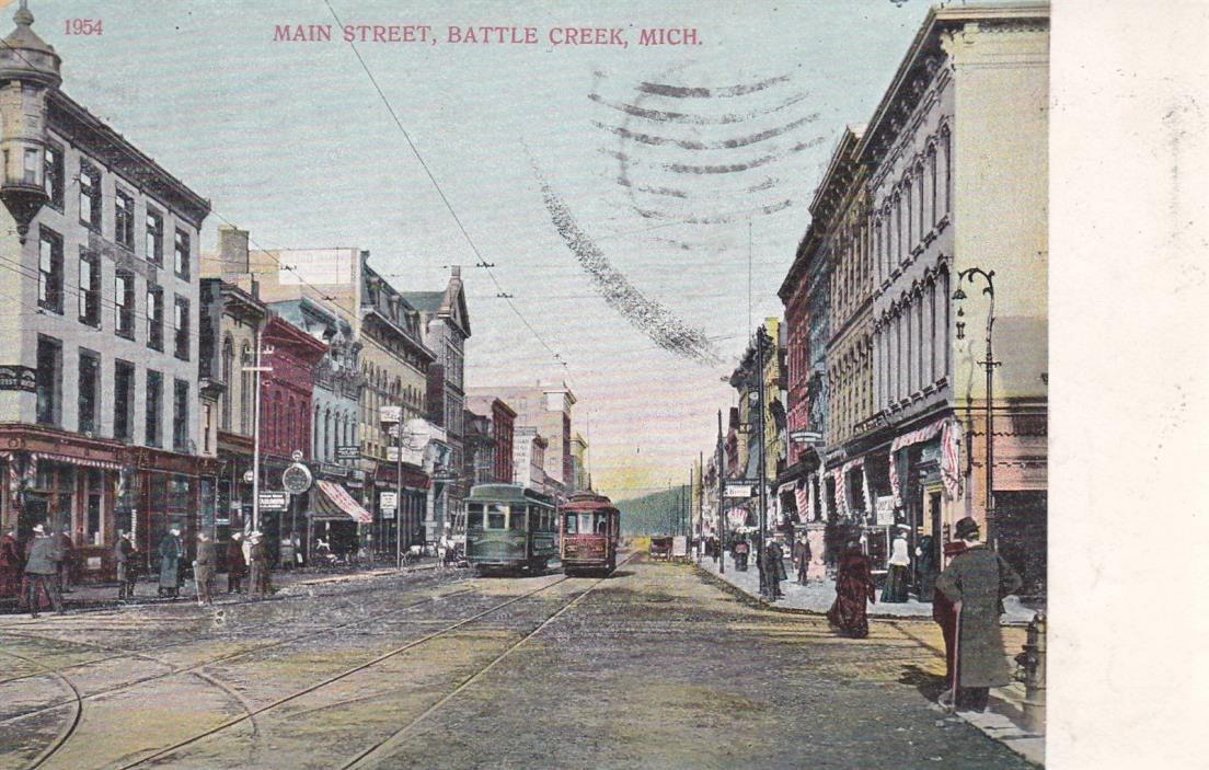 Battle Creek, MI - Main Street