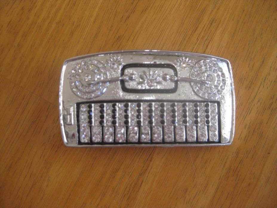 Piano/Turn table belt buckle