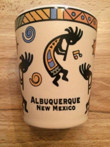 Albuquerque New Mexico Kokopelli Ceramic 2 1/4