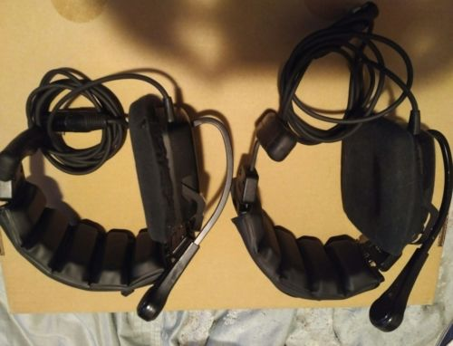 2 x Telex PH1L-64438 Headsets
