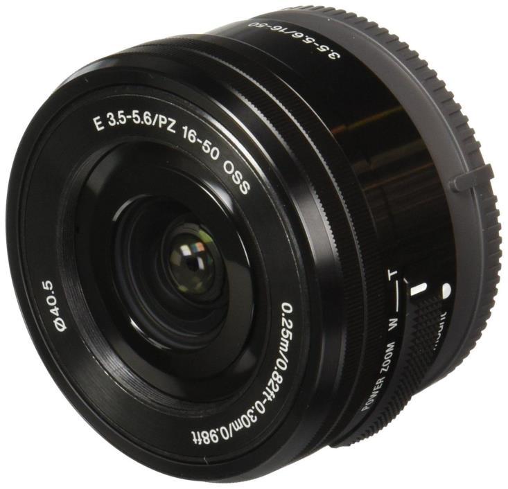 Sony 16-50mm f/3.5-5.6 OSS SELP1650 Lens Black - Retail Packing US