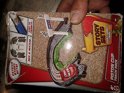 Disney/Pixar Cars Story Sets Piston Cup Track Pack NEW