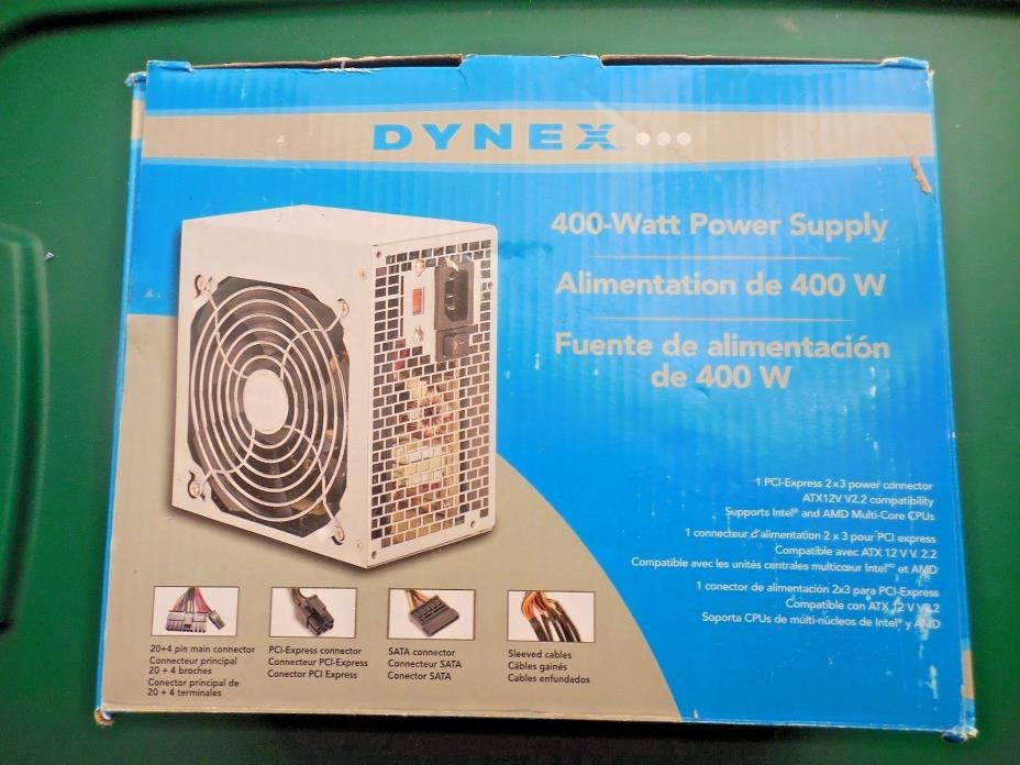 Dynex- 400-Watt ATX CPU Power Supply