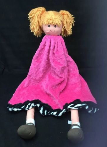 Fat Rat Family Minky Dot Pink Baby Doll  26
